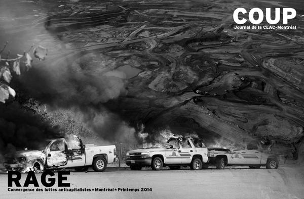 Coup/Rage, Journal de la CLAC-Montréal, printemps 2014