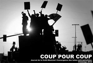 Coup pour coup, journal de la CLAC-Montréal, printemps 2012