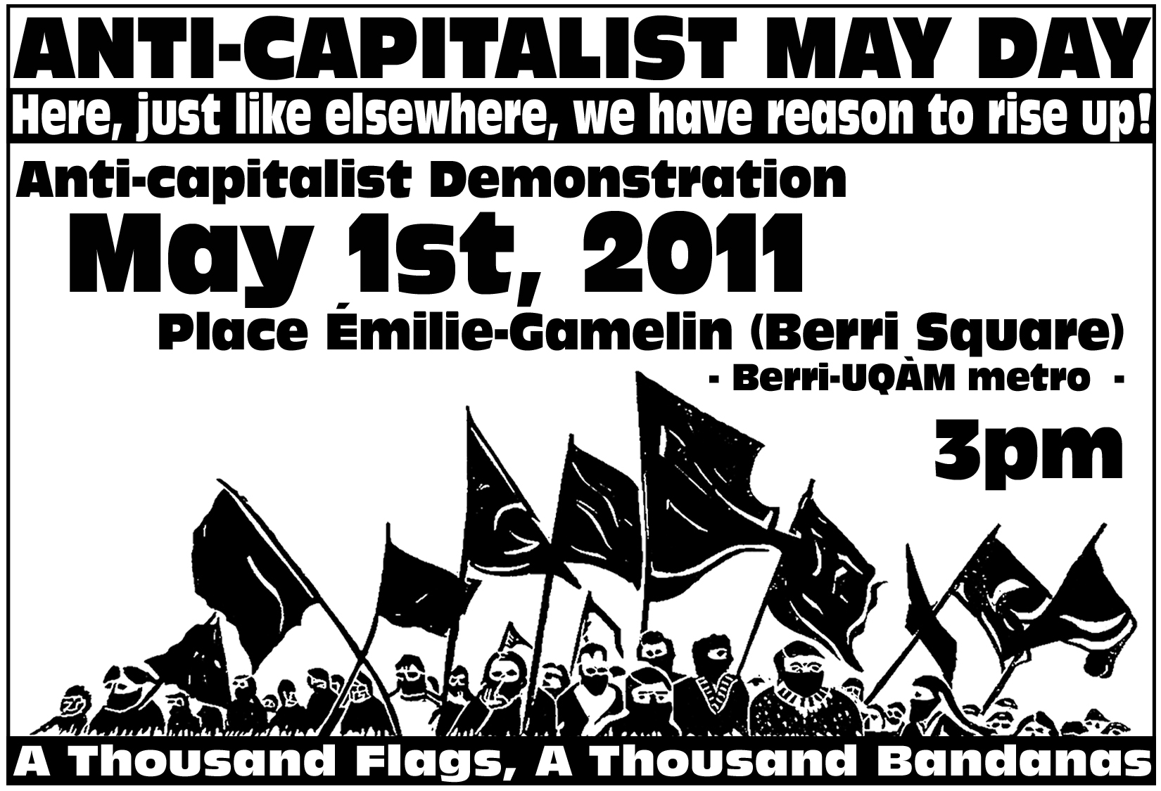 ANTI-CAPITALIST MAY DAY 2011