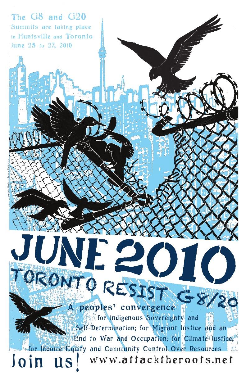 TCMN G20 Resistance Poster